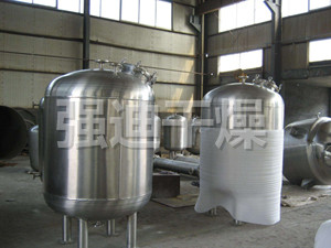 Stainless steel tank and preparation tank